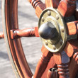 Stock Photo: Sailing Ship Rudder