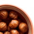 Photo: Soy meatballs