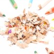 Pencil Chips — Stock Photo