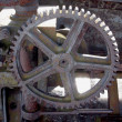 Close up view of gears from old mechanism — Stock Photo #8042013
