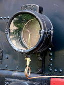 Photo of a steam locomotive engine — Stock Photo
