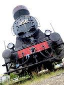 Photo of a steam locomotive engine — Stock Photo