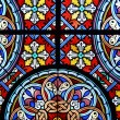 Stained glass in cathedral — Stock Photo #8317488