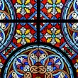 Stained glass in cathedral — Stock Photo #8317489