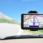 Satellite navigation system — Stock Photo #8317669