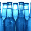 Row of beer bottles — Stock Photo #8317840
