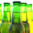 Row of beer bottles — Stock Photo #8317860