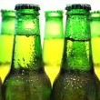 Row of beer bottles — Stock Photo #8317862