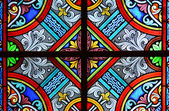 Stained glass in a cathedral — Stock Photo