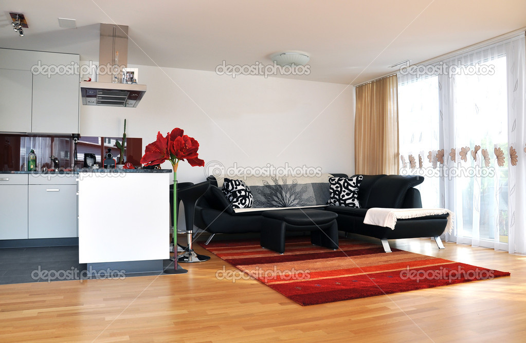 Modern living room — Stock Photo #8317701