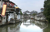 Old chinese town — Stock Photo