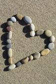 Coeur pierre — Photo