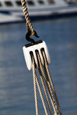 Fishing pulley — Stock Photo