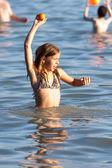 игры на пляже — Стоковое фото