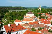 Small Hungarian city landscape (Veszprem) — Stock Photo