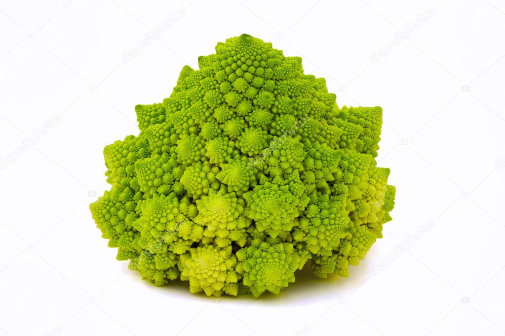 Rare special broccoli (Romanesco broccoli cabbage) — Stock Photo #9266801