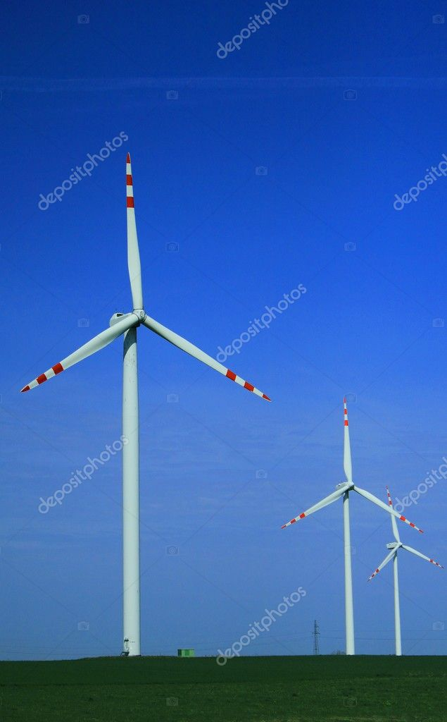 Wind turbines — Stock Photo #10351567