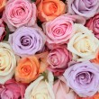 Pastel rose wedding flowers — Stock Photo #10053636