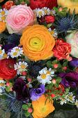 Summer flower bouquet — Stock Photo