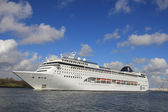April 21st 2012, Velsen, MSC Lirica sailing to Northsea — Стоковое фото