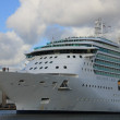 May, 12th 2012 IJmuiden, the Netherlands, Brilliance of the Seas - Stock Photo