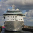 May, 12th 2012 IJmuiden, the Netherlands, Brilliance of the Seas — Stock Photo
