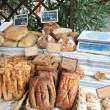 Bread on a French market - Stock fotografie