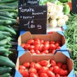 Vegetables on a french market - Stock fotografie