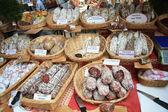 Worst op een markt in de provence — Stockfoto