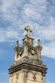 Dettaglio di un tomba ornamento in francia — Foto Stock