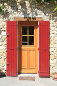 House in the Provence, frontdoor — Stock Photo
