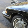 Front detail of a black hearse - Lizenzfreies Foto