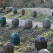 Columbarium in a forest - 
