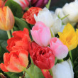 Mixed spring tulips bouquet — Stock Photo #9497810