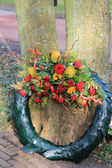 Sympathy wreath — Stock Photo