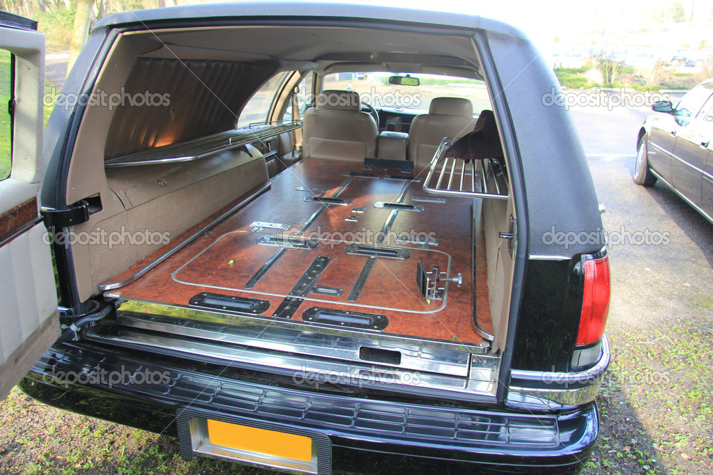hearse interior stock photo portosabbia 9494633. Black Bedroom Furniture Sets. Home Design Ideas