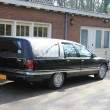 Stock Photo: Black Hearse