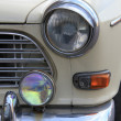Detail of vintage car front — Stock Photo #9518847