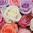Pastel rose wedding flowers — Stock Photo #9820353
