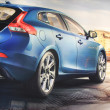 March 31st, Beesd Netherlands Presentation of new Volvo V40 — Stock Photo #9835888