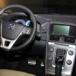March 31st, Beesd the Netherlands Volvo XC60 dashboard detail - Stockfoto