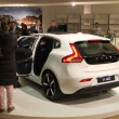 Stock Photo: March 31st, Beesd Netherlands Introduction of new Volvo V40,