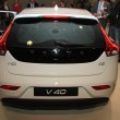 March 31st, Beesd the Netherlands Introduction of new Volvo V40, — Stock Photo