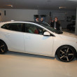 Stock Photo: March 31st, Beesd Netherlands Introduction of new Volvo V40
