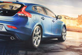 March 31st, Beesd the Netherlands Presentation of new Volvo V40 — Стоковое фото