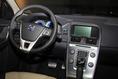 March 31st, Beesd the Netherlands Volvo XC60 dashboard detail — Stock Photo