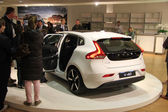 March 31st, Beesd the Netherlands Introduction of new Volvo V40, — Stockfoto