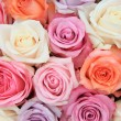 Pastel rose wedding flowers — Stock Photo #9925807