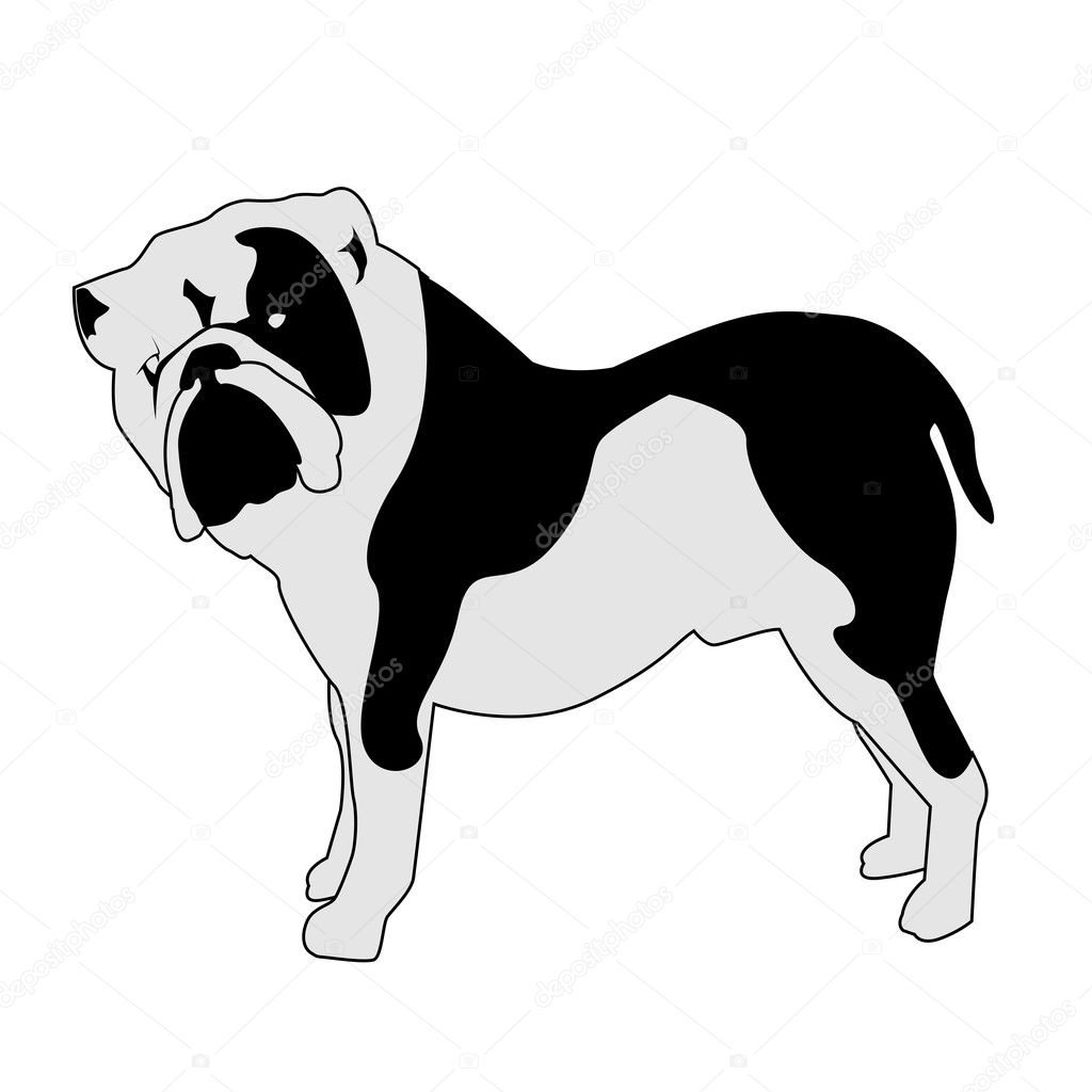 Awesome dog silhouette vector free photographs