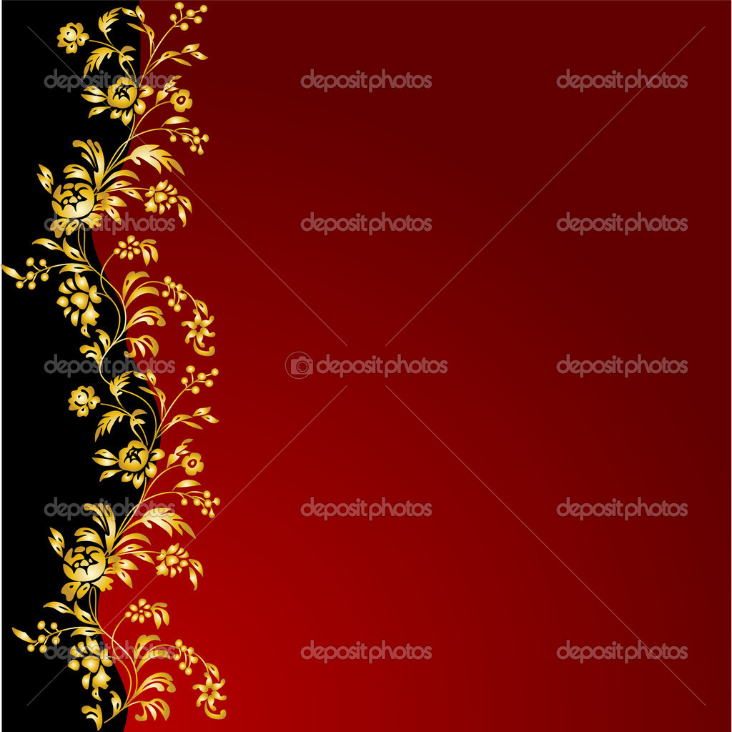 The vector floral background eps 8 — Stock Photo #8412118